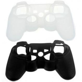 Silikoninen suojakuori PS3 -ohjaimelle - Musta