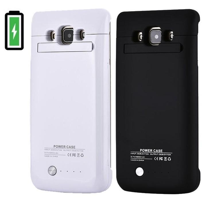 Samsung A7 batterifodral 4200mAh