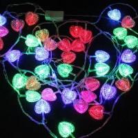 Sydämenmuotoinen led -valosarja 100 ledillä! Valaise nyt pimeneviä iltoja ja piristä kodin sisustusta edullisesti.