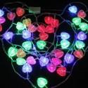 10m Heart -valosarja, 100 lediä