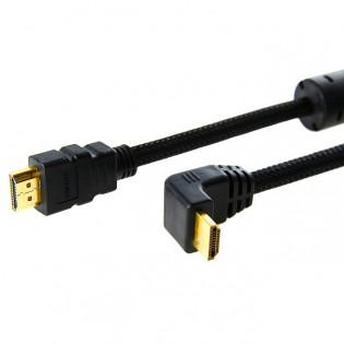 Samzhe HDMI kulmakaapeli 2-5m - 5m