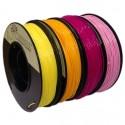 PLA 1.75mm 4x250g Kelta/Pinkki/Violetti/Oranssi -setti