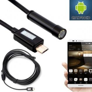 Android/PC -endoskooppi 10 m / 7 mm