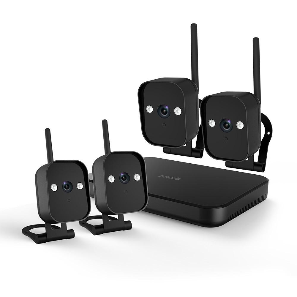 ZMODO Replay WiFi ulkovalvontakamerasetti