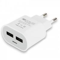 Bekväm och säker 1A nätladdare som är väl lämpad för nästan alla typer av enheter som laddas via USB.