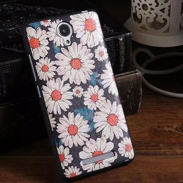 Xiaomi Redmi Note 2 fodral Blommor
