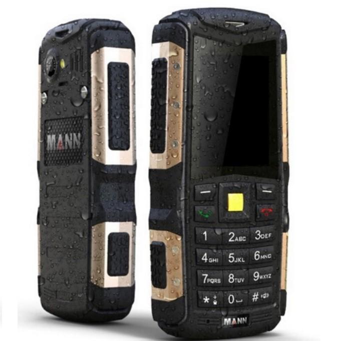 MANN ZUGS Vatten- och stötsäker smartphone