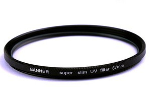 UV filter Super slim 55mm | UV-suodin