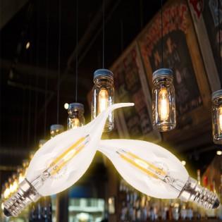 FSL Retro LED -koristelamppu E14 2W