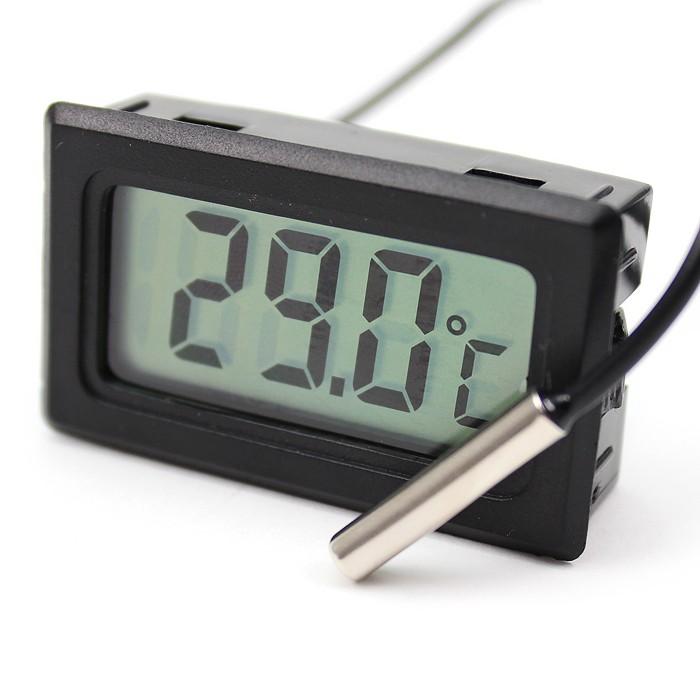 Digital mini-termometer kyl/frys