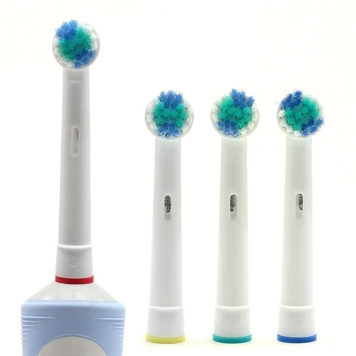 Tandborsthuvuden 4-pack som passar till Oral-B eltandborste