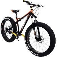 """26"""" Fatbike X-TREME polkupyörän alla on 4"""" renkaat ja käy se ajoon ympäri vuoden. Lue asiakkaiden arvostelut & tilaa ärjy fatbike halvalla, vaikka osamaksulla!"""