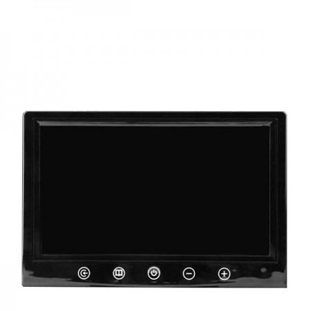 """9"""" LCD autonäyttö VGA liitännällä - VGA liitännällä"""