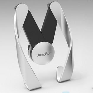 Autobot Gorilla älypuhelinteline autoon - Hopea