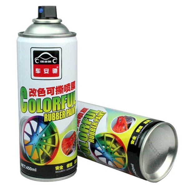 Gummi-sprayfärg