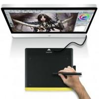 Du kan spara dina skisser och ritningar på ett microSD-kort, och de följer alltid med ditt ritbord vart än du tar det!