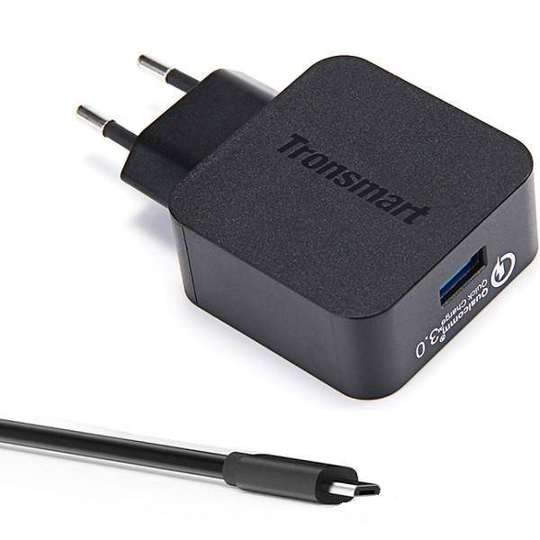 Tronsmart snabb Micro-USB -laddare 3.0A