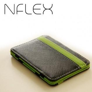 NFLEX korttilompakko - Vihreä