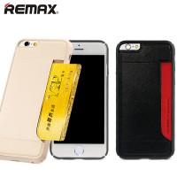 Remax on suunnitellut yksinkertaisen, tyylikkään ja monikäyttöisen suojakuoren iPhonelle. Jujuna tässä kuoressa on takaosassa oleva aukko, johon saa sujautettua yhden kortin.