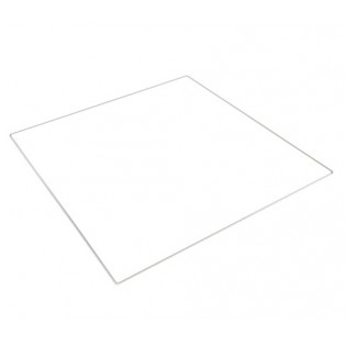 Lasialusta (borosilikaattilasia) Prusa i3 3D-tulostimeen