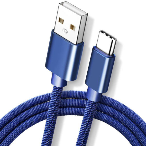 LDNIO trasselfri Micro-USB-C kabel 2.4A 1.0m