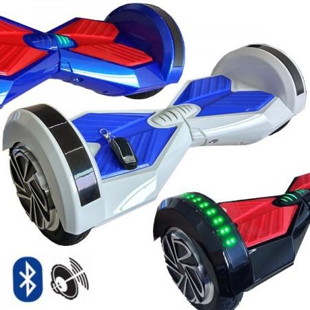 """e-Drift R8 hoverboard 8"""" - Punamusta"""
