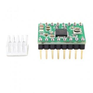 Askelmoottorin ohjauspiiri A4988 RAMPS 1.4 ohjauspiiriin / Prusa i3 3D tulostimeen