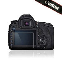 Erittäin laadukkaasta optisesta lasista valmistettu LCD-näytönsuojus Canon 5D Mark II & 1Ds Mark III –kameroille.