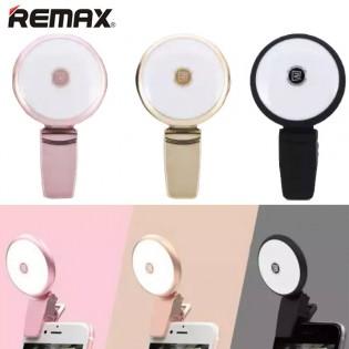 REMAX Selfie-valo puhelimeen - Vaaleanpunainen