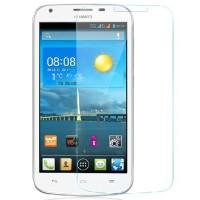 Panssarilasi suojaa Huawei Y5 älypuhelimen näyttöä roiskeilta, pölyltä ja lialta.