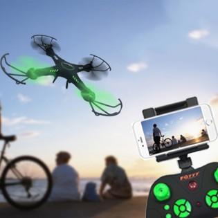 FQ777 958 WIFI FPV-drone - Valkoinen