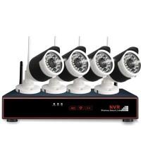 Heti valmis neljän HD-valvontakameran säänkestävä paketti kodin, toimiston, mökin tai minkä tahansa alueen valvontaan ja turvaamiseen. Helppo asentaa!