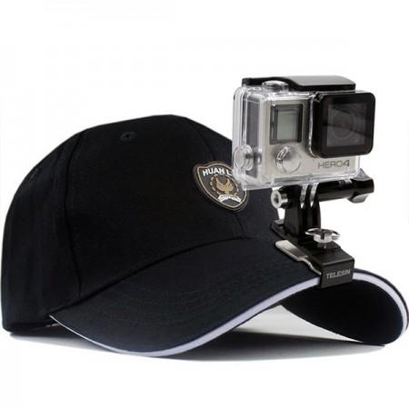 Action-kameran säädettävä lippalakkikiinnike