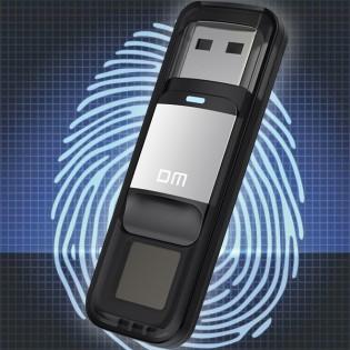 DM sormenjälkisuojattu muistitikku 64GB