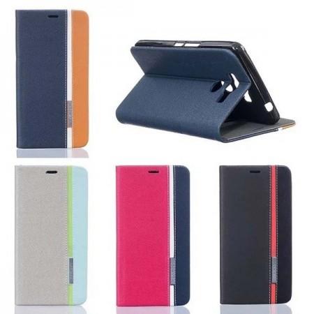 Suojakotelo Elephone P9000 -älypuhelimelle, Värikäs - Vaaleanharmaa