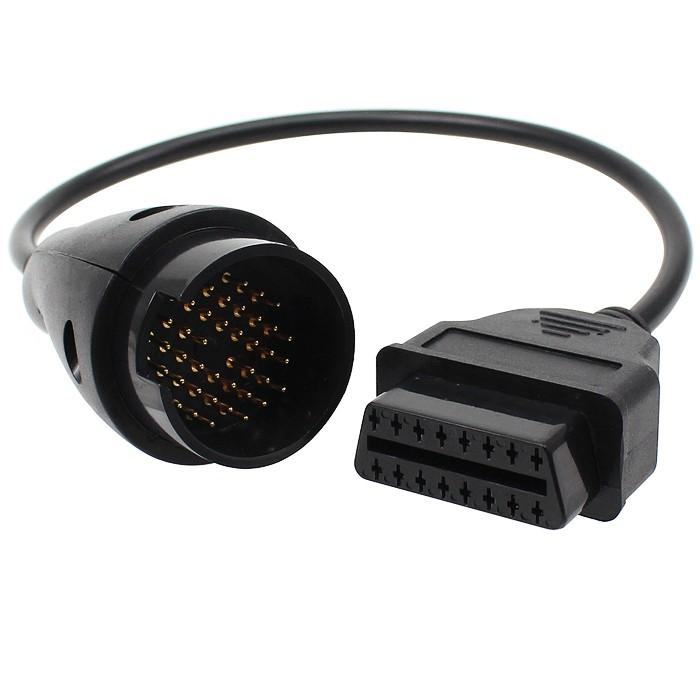 OBD2 Adapter till Mercedes 38-pin till standard OBD 16-pin