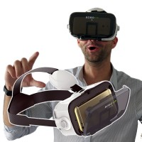 "BOBOVR Z4 Mini virtual reality glasögon för 4.7-6"" smartphone"
