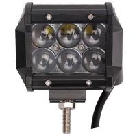 4D-valokennolla varustetut LED-valaisimet ovat alan viimeisintä Huutoa. Cree-ledien tuottama 1500 lumenin valoteho on kova sana pimeällä.