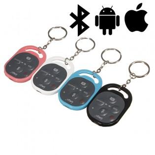 Ipega avaimenperä kaukolaukaisin puhelimelle - Pinkki