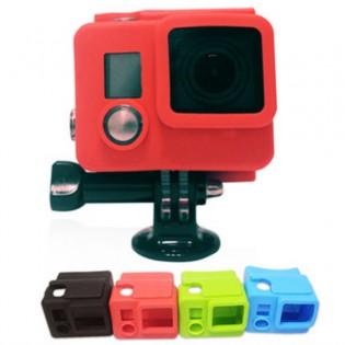 GoPro Hero 3+ & 4 silikonisuoja vesitiiviille kotelolle - Vihreä