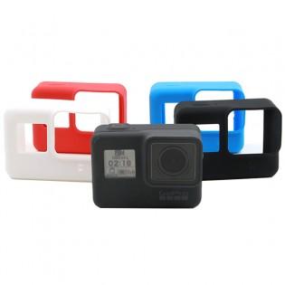 GoPro Hero 5 silikoninen kotelo - Punainen