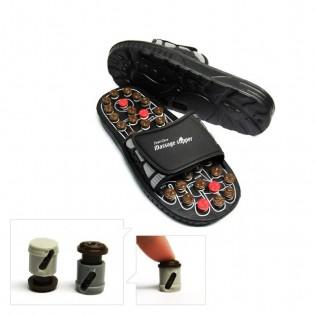 Reflexology slippers - Vyöhyketerapia -sandaalit - 43-45