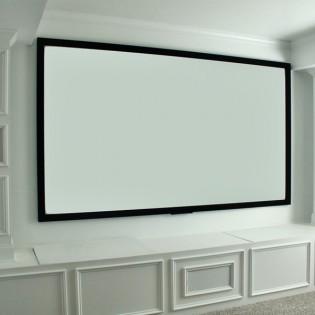 Valkokangas projektorille 100