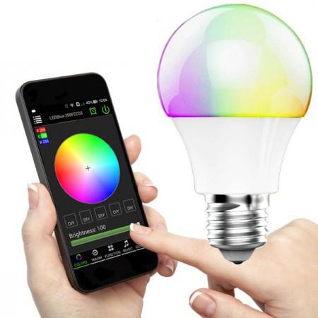 Magic Blue LED kännykkäohjattava lamppu
