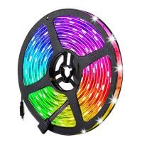 Kännykällä ohjattava LED-valonauha on todella helppo tapa piristää huoneen tai parvekkeen ilmettä. Vaihda väriä tai kirkkautta mielialasi mukaan.