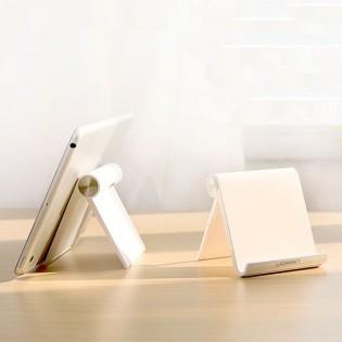 UGREEN säädettävä teline puhelimelle tai tabletille - Valkoinen