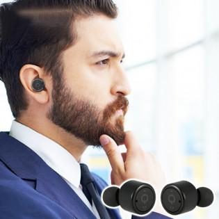 Diel X1T Mini langattomat Bluetooth -kuulokkeet - Valkoinen