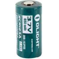 Olight RCR123A laddningsbart batteri 650mAh