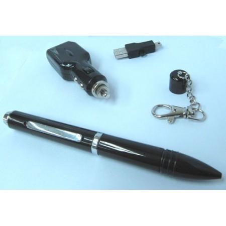 Spy-kynäkamera ääniohjauksella - 8GB
