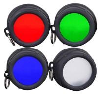 Värisuodin / diffuusori Klarus XT11GT taskulamppuun mahdollistaa lampun monipuolisen käytön. Punaista suodatinta käytetään säilyttämään silmien pimeänäkö.